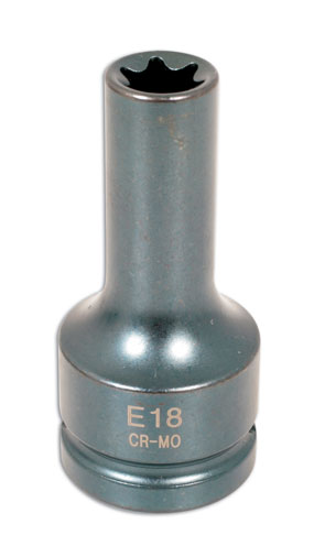 "Cylinder Head Socket E18 3/4""DR"