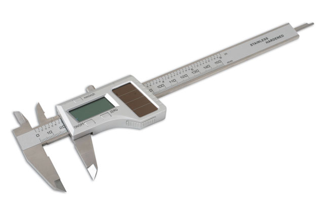 Solar Digital Caliper Range 0 - 150mm