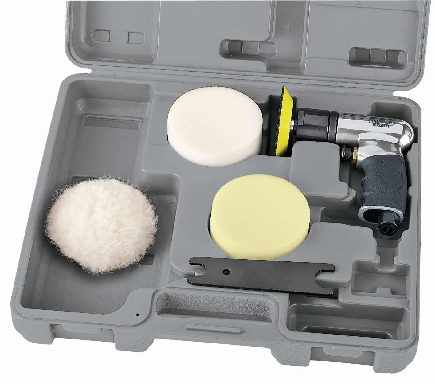 EXPERT 75MM COMPACT SOFT GRIP AIR POLISHER KIT