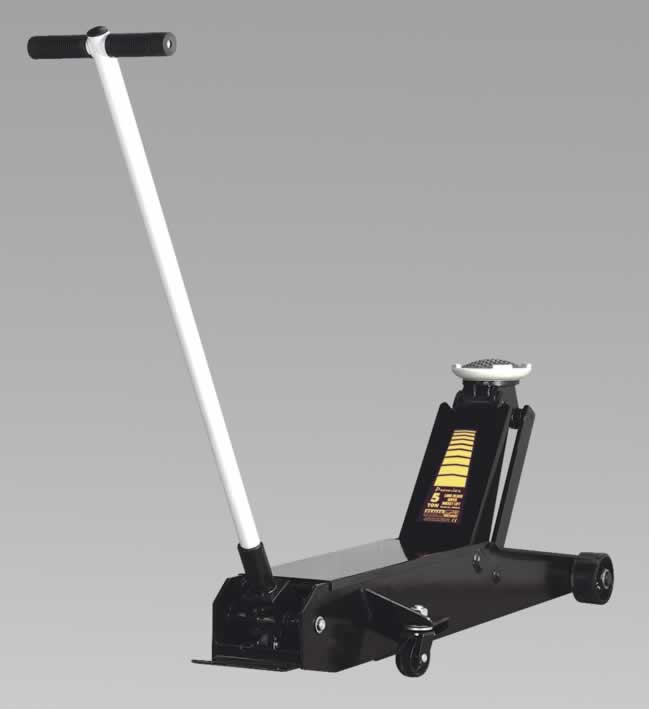 Trolley Jack Premier 5tonne Long Reach Super Rocket Lift
