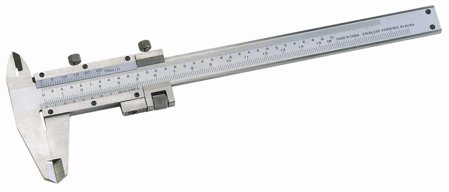 EXPERT 0 - 140MM VERNIER CALIPER WITH FINE ADJUSTMENT    (AH)