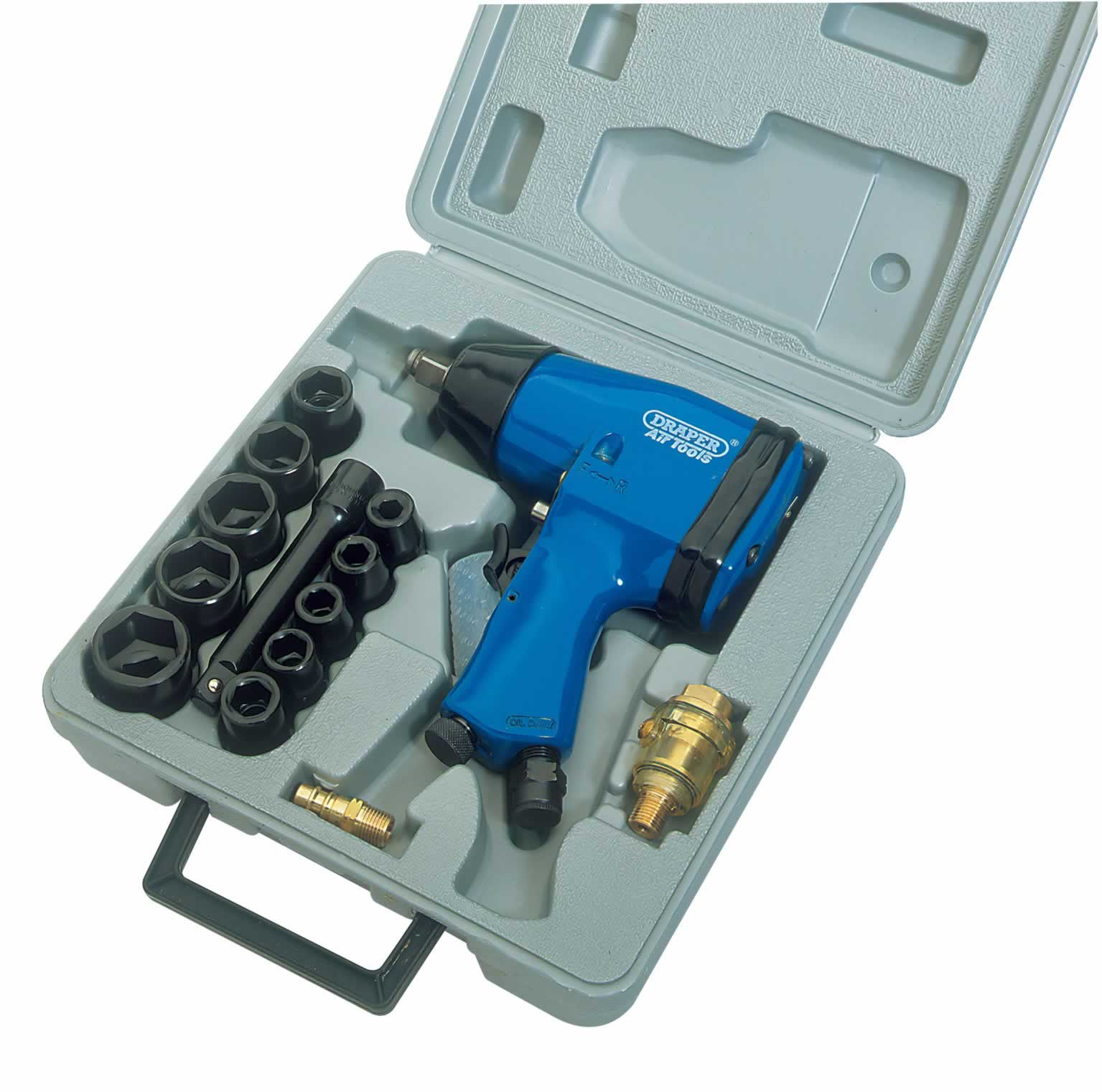 "15 PIECE 1/2"" SQUARE DRIVE AIR IMPACT WRENCH KIT   (AHA)"