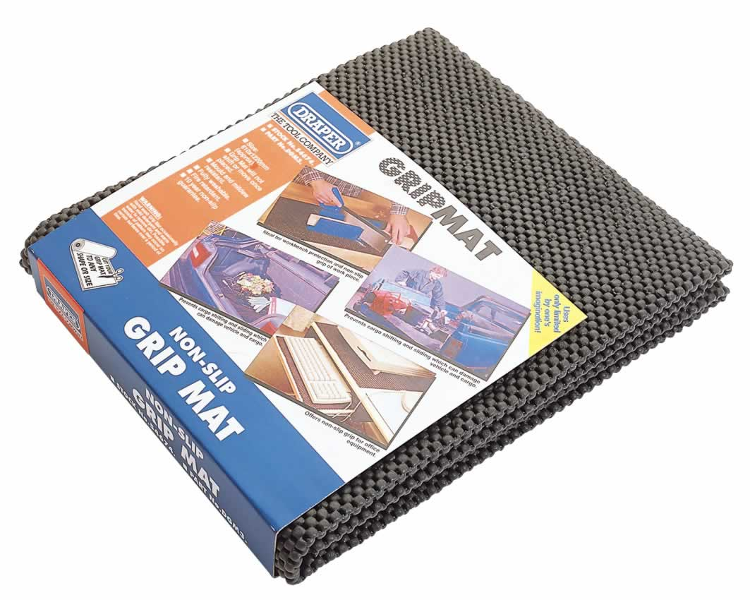 610MM X 1220MM PAD OF NON-SLIP DRAPER GRIP MAT