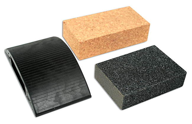 Sanding Block Kit 3pc - CDU (10)