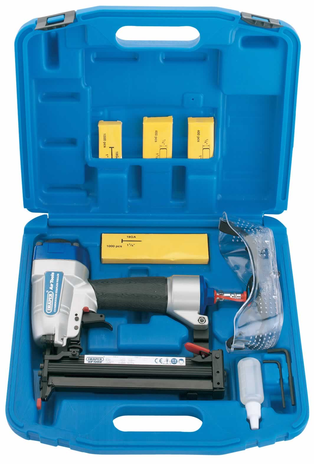COMBINATION AIR NAILER/STAPLER KIT  (AHA)