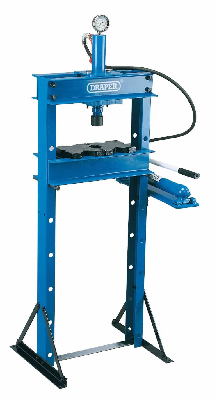 10 TONNE HYDRAULIC FLOOR PRESS
