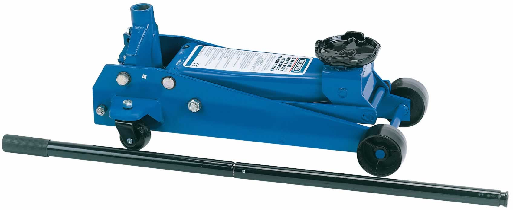 3 TONNE HEAVY DUTY GARAGE TROLLEY JACK