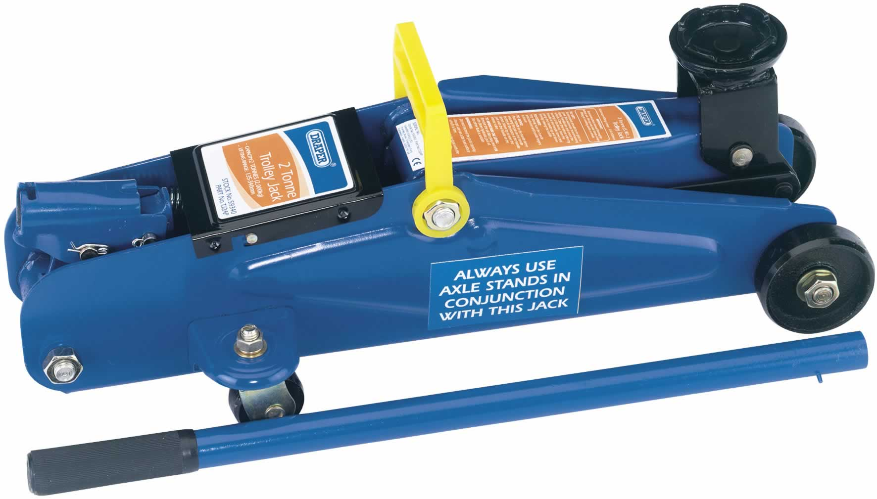 2 TONNE LIGHT DUTY TROLLEY JACK
