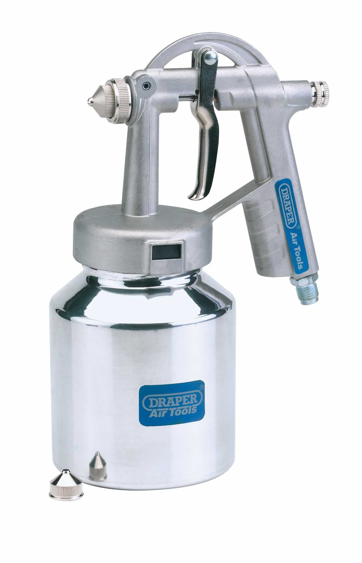 BLEEDER-TYPE AIR SPRAY GUN