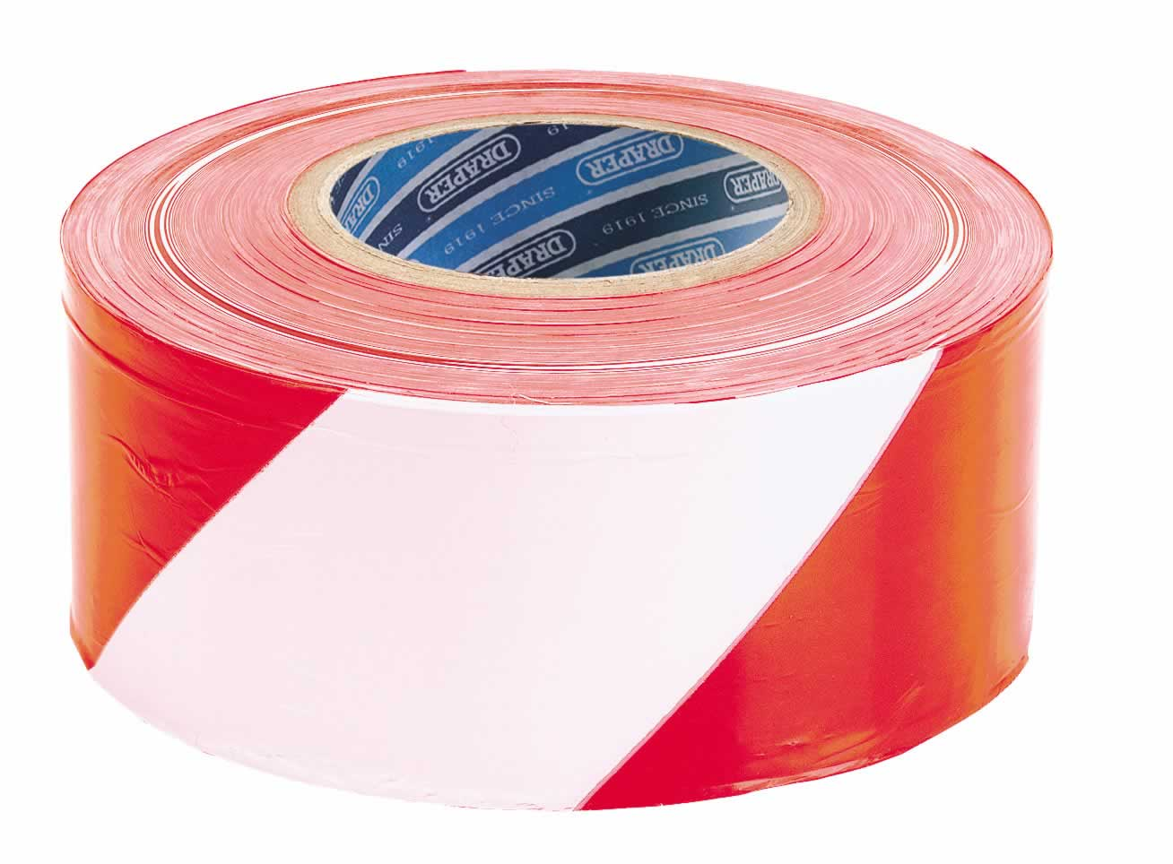 75MM X 500M RED &WHITE BARRIER TAPE ROLL