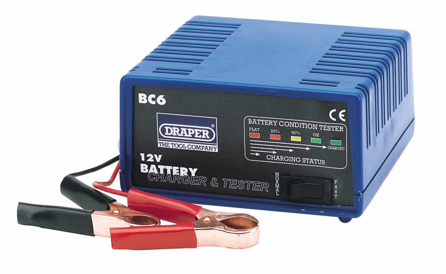12V BATTERY CHARGER  TESTER - 6A