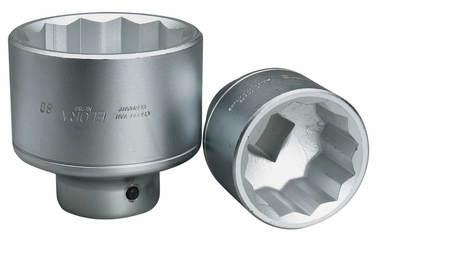 "36MM 1"" SQUARE DRIVE ELORA BI-HEX SOCKET"