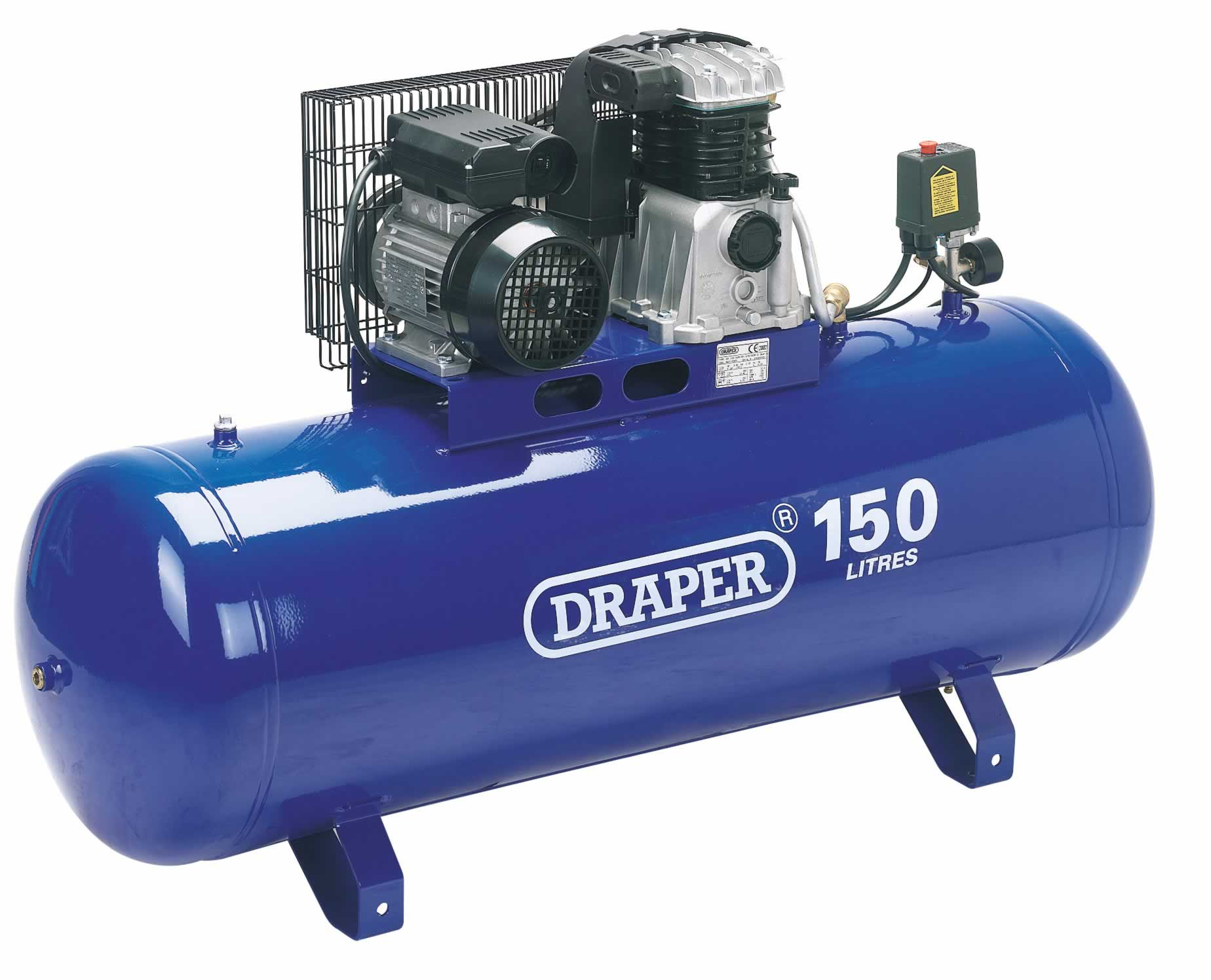 150L 2.2KW BELT DRIVEN AIR COMPRESSOR