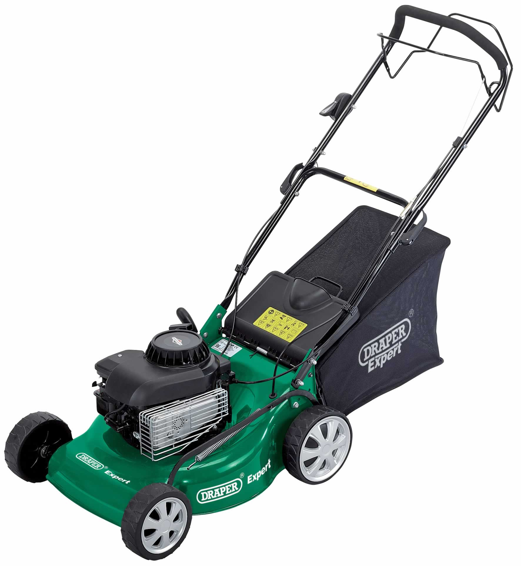 EXPERT 4HP 460MM PETROL MOWER WITH BRIGGS & STRATTON ENGINE