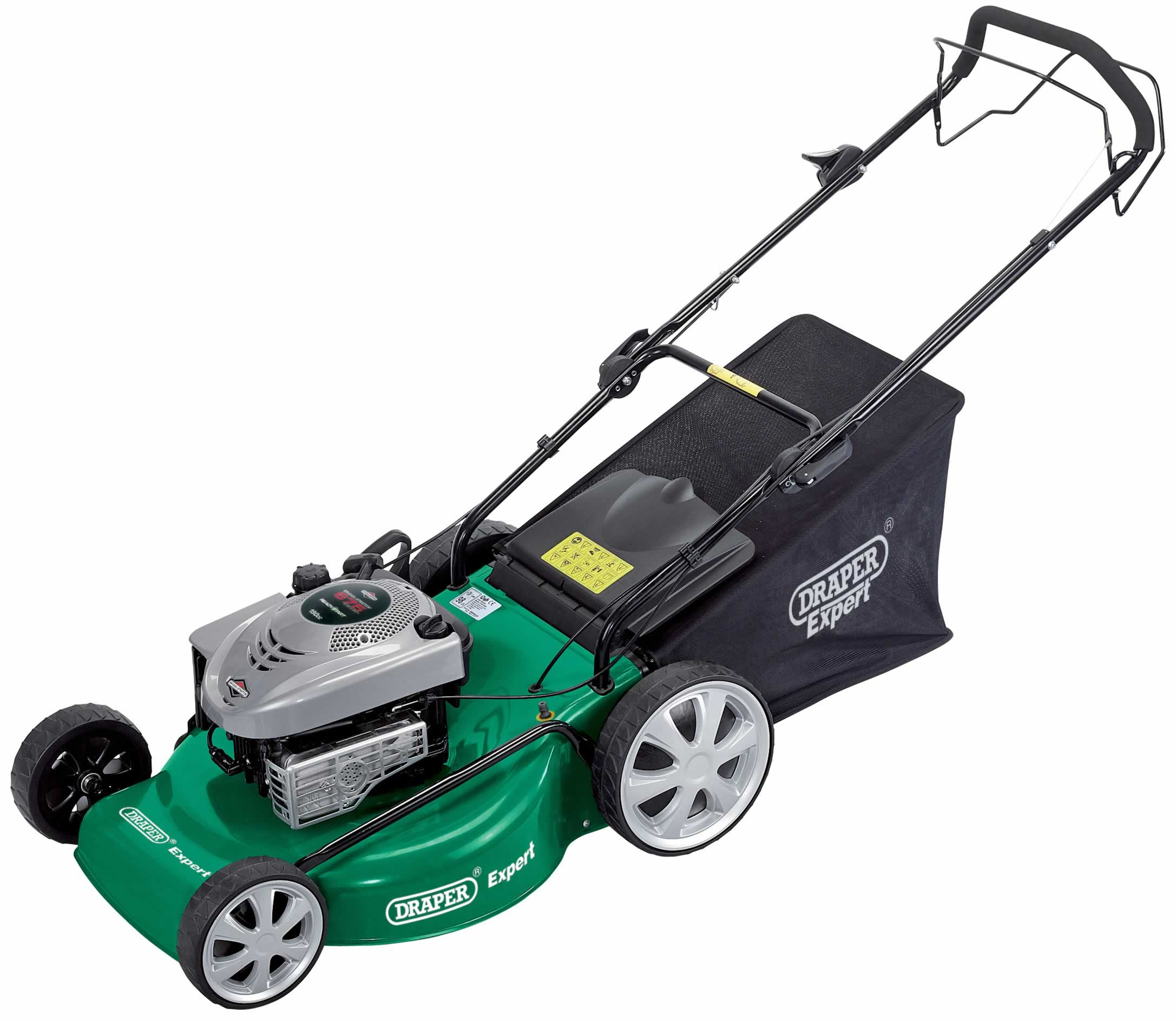 EXPERT 5.5HP 560MM SELF-PROPELLED PETROL MOWER WITH READYSTART® ENGINE