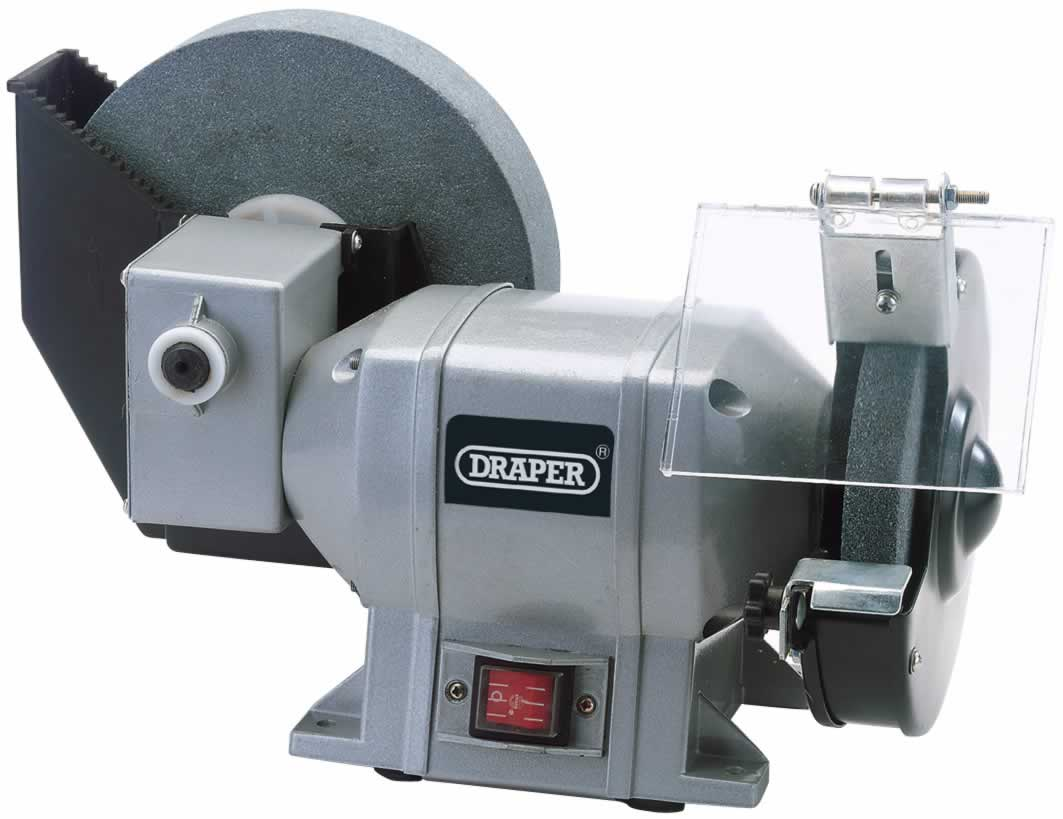 230V 250W WET AND DRY BENCH GRINDER   (G)