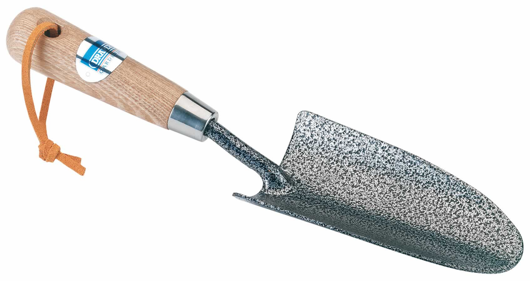 CARBON STEEL HEAVY DUTY HAND TROWEL ASH HANDLE