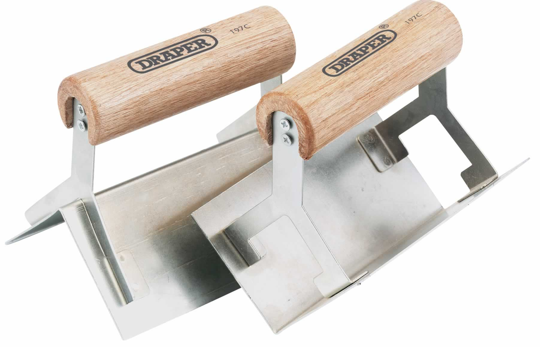 2 PIECE CORNER TROWEL SET