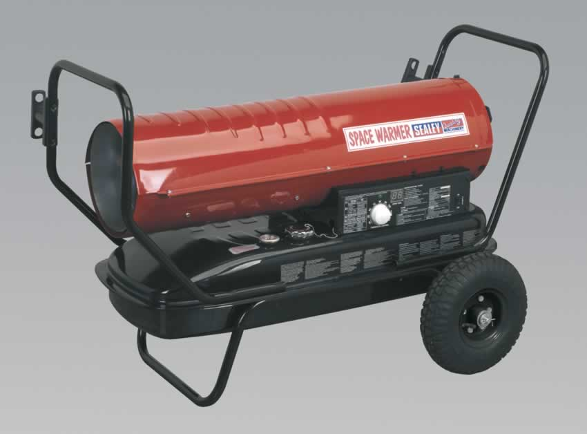 Space Warmer Paraffin/Kerosene/Diesel Heater 100,000Btu/hr with Wheels