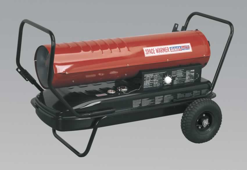 Space Warmer Paraffin/Kerosene/Diesel Heater 175,000Btu/hr with Wheels  (AHC)