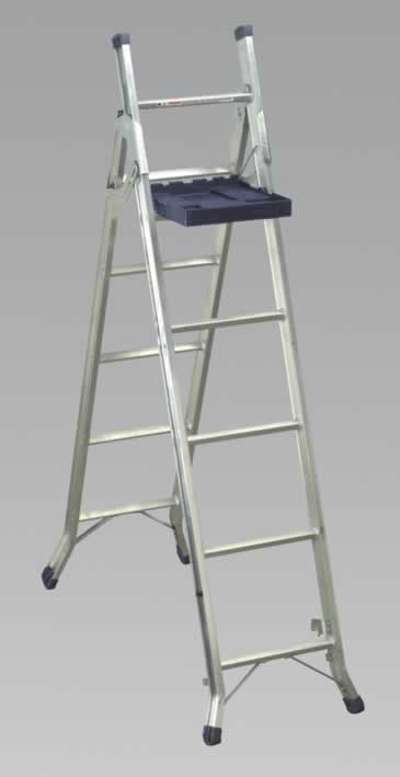 Aluminium Multi-Purpose Ladder 3-Way BS2037:1994