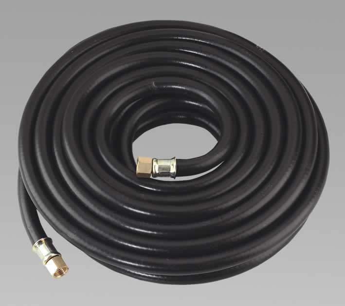"Air Hose 10mtr x Ø8mm with 1/4""BSP Unions Heavy-Duty"
