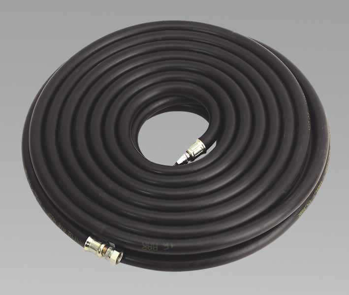 "Air Hose 15mtr x Ø10mm with 1/4""BSP Unions Heavy-Duty"