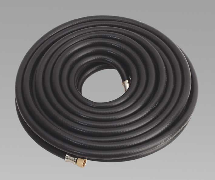 "Air Hose 15mtr x Ø8mm with 1/4""BSP Unions Heavy-Duty"