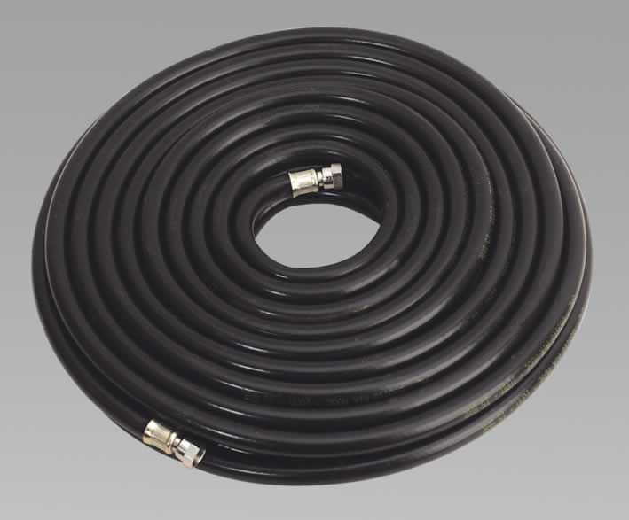 "Air Hose 20mtr x Ø10mm with 1/4""BSP Unions Heavy-Duty"