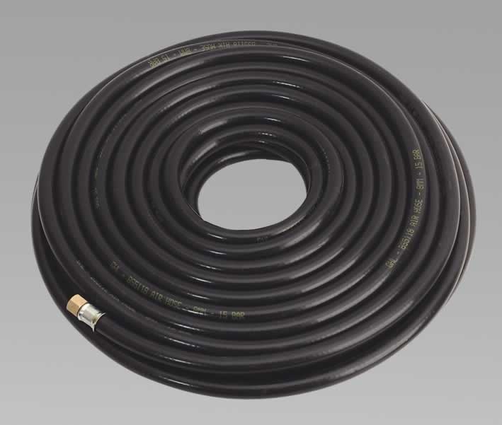 "Air Hose 20mtr x Ø8mm with 1/4""BSP Unions Heavy-Duty"