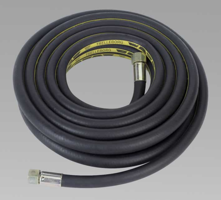 "Air Hose 5mtr x Ø13mm with 1/2""BSP Unions Extra Heavy-Duty"