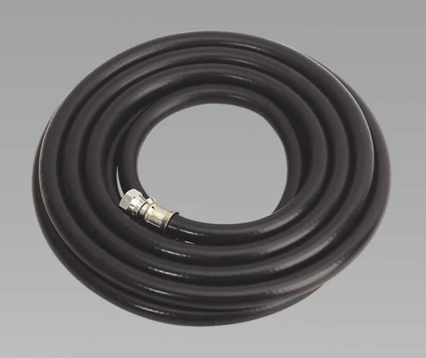 "Air Hose 5mtr x Ø10mm with 1/4""BSP Unions Heavy-Duty"
