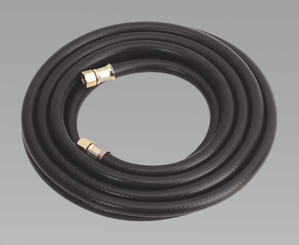 "Air Hose 5mtr x Ø8mm with 1/4""BSP Unions Heavy-Duty"