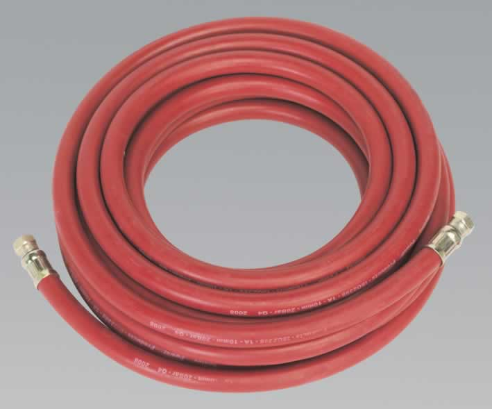 "Air Hose 10mtr x Ø10mm with 1/4""BSP Unions"