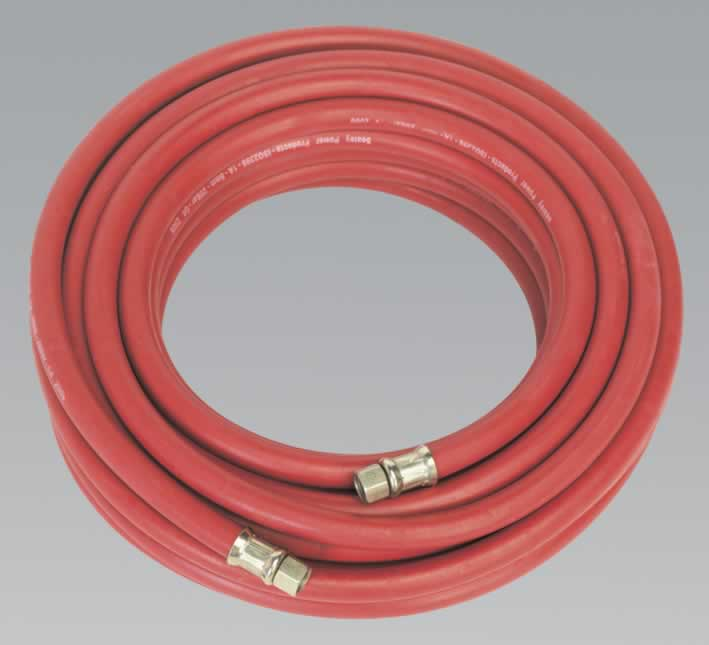"Air Hose 15mtr x Ø8mm with 1/4""BSP Unions"