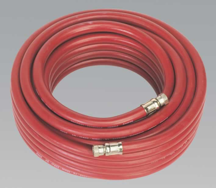 "Air Hose 15mtr x Ø10mm with 1/4""BSP Unions"