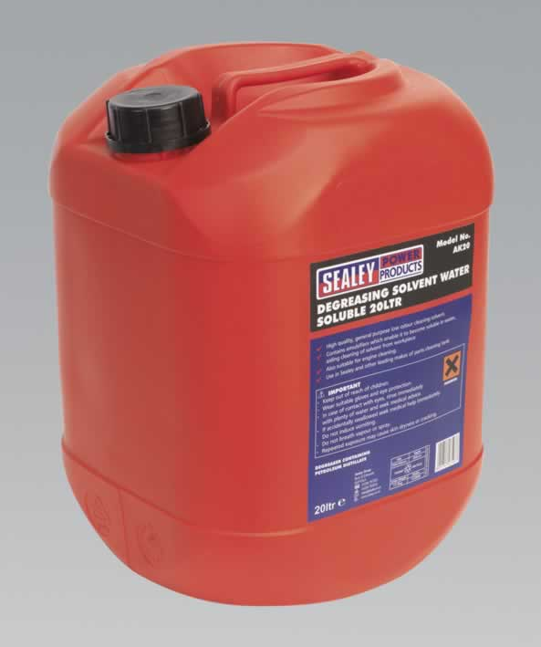 Degreasing Solvent Emulsifiable 1 x 20ltr