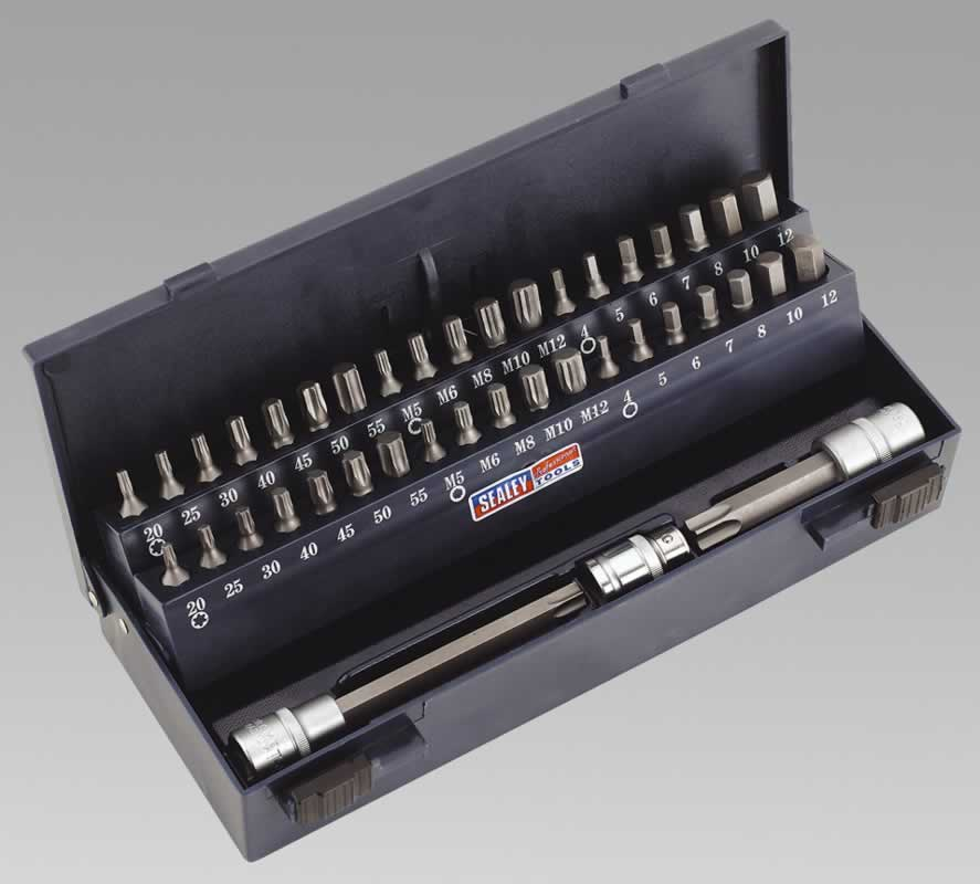 TRX-Star/Spline/Hex Bit Set 44pc