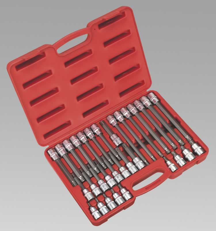 "Ribe Socket Bit Set 32pc 1/2""Sq Drive"