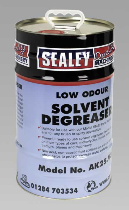 Degreasing Solvent Emulsifiable 1 x 25ltr