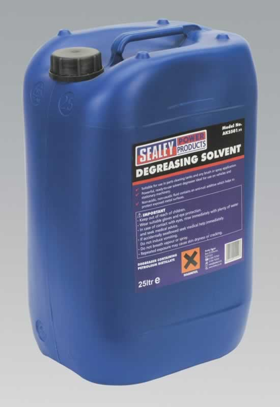 Degreasing Solvent 1 x 25ltr Container