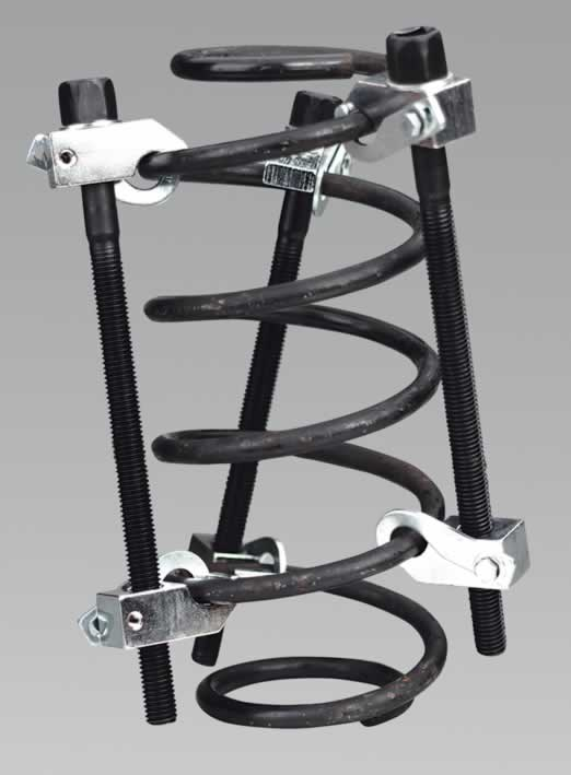 Coil Spring Compressor 3pc with Safety Hooks