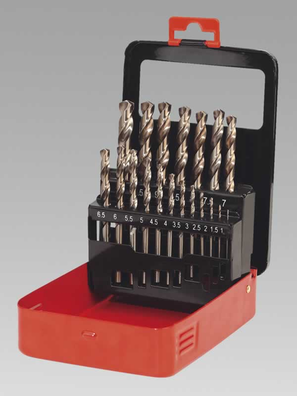 Cobalt Drill Bit Set 19pc Metric (AHC)