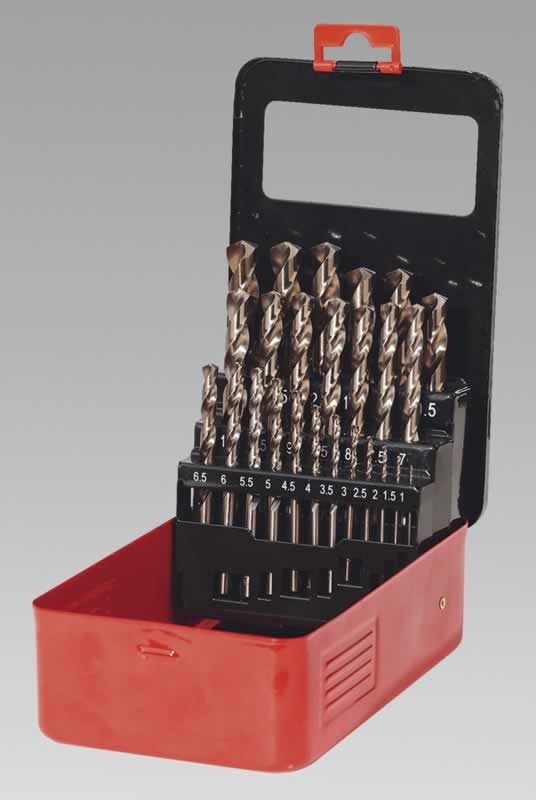 Cobalt Drill Bit Set 25pc Metric  (AHC)