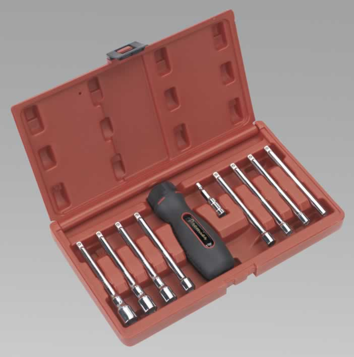 Ratchet Nut Driver Set 10pc