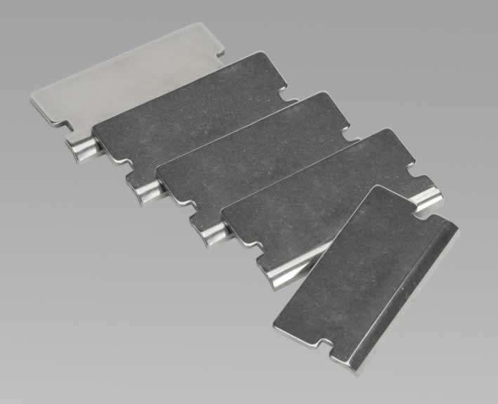 Angled Razor Blade for AK52507, AK52508, AK52504 & VS500 Pack of 5