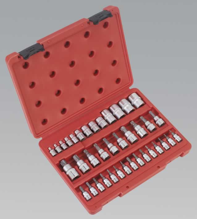 TRX-Star Socket & Socket Bit Set 38pc