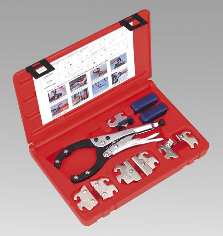 Universal Multifunction Locking Pliers Set