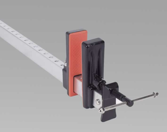 Sash Clamp Aluminium Quick Action 600mm