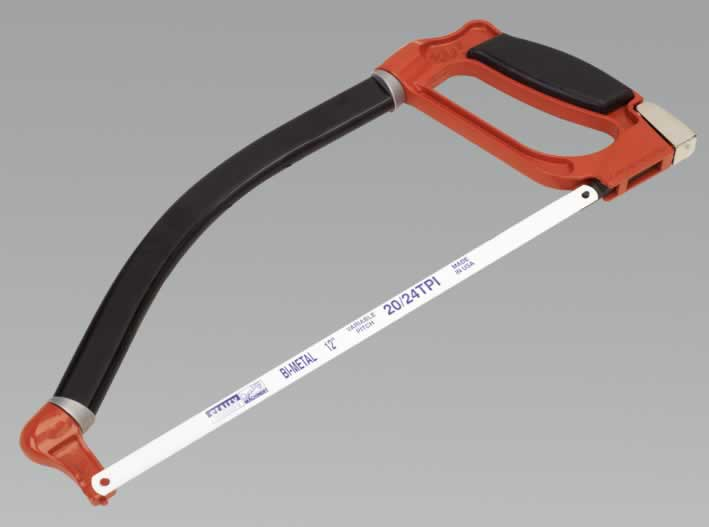 Hacksaw 300mm 3-D Swivel Back